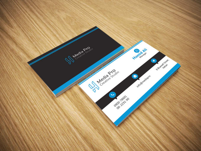Design professional business card double sided by hamidalich design professional business card double sided reheart Choice Image