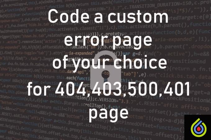 Custom 403 Page
