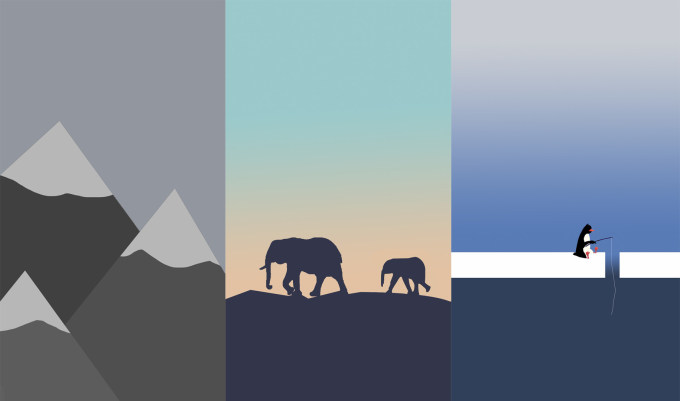 Create A Minimalist Custom Iphone Or Android Wallpaper By Gracyn