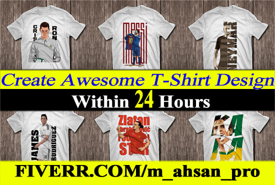 808d7ca2 I will create awesome t shirt design within 24 hours