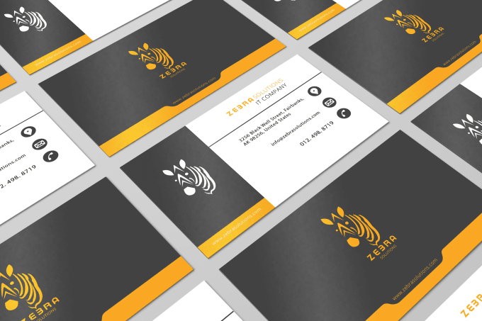 Design A Custom Double Sided Business Card By Taimoorkhaliq