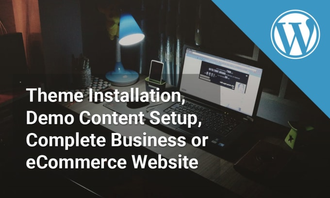 create responsive, custom wordpress website with theme