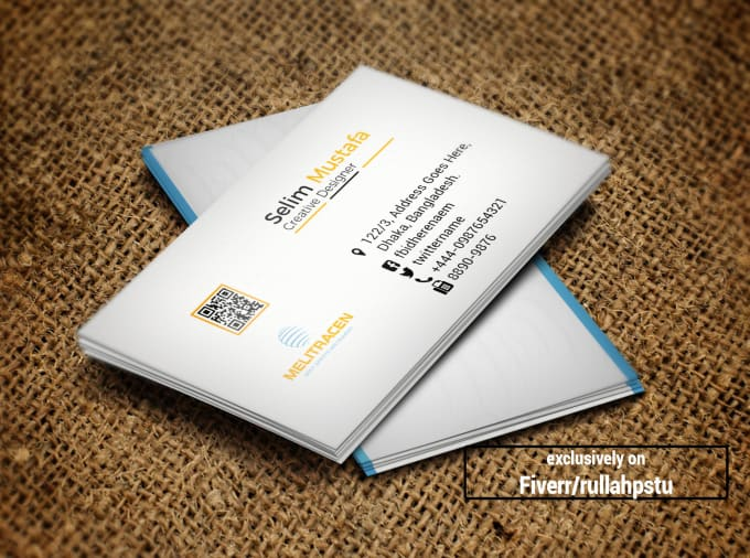 Professional business card stationary design design print ready business card colourmoves