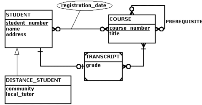 Create Entity Relationship Diagram By Jdm Ca