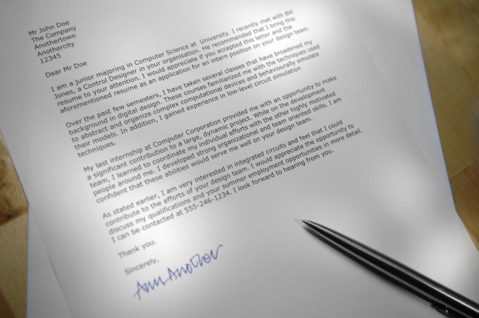Amazing Write A Great Cover Letter