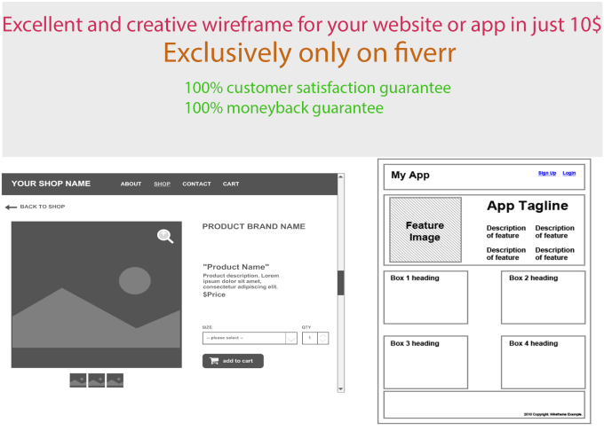 Create excellent wire frames for your websites and apps by Creative5050