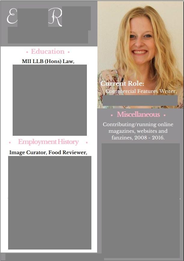 design a tailor made  original resume or cv for you by emirev