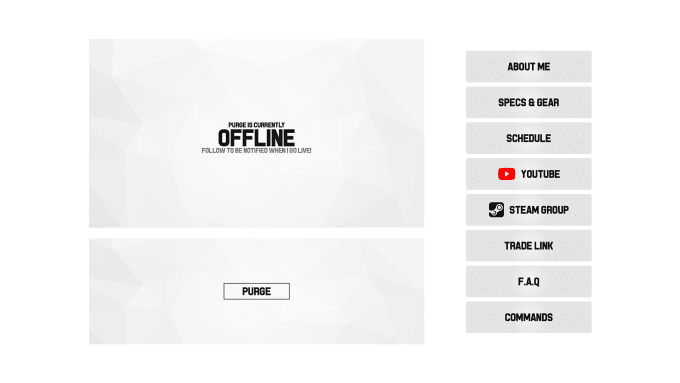 alexangert : I will create a minimalist and clean twitch branding for $10  on www fiverr com