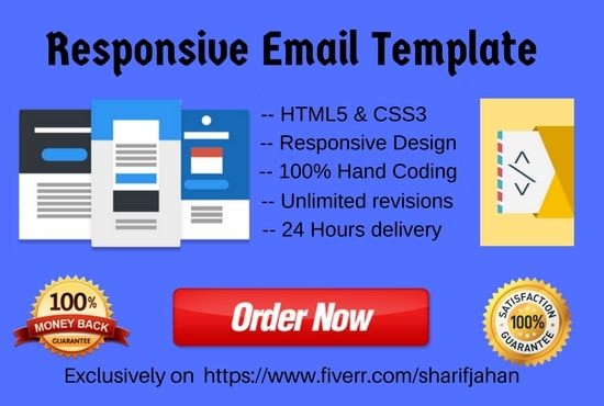 Design responsive html email template by sharifjahan design responsive html email template maxwellsz