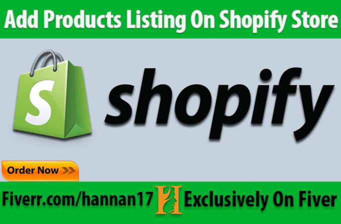 do 170 add product listing on shopify
