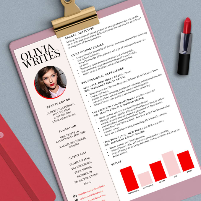 Make Your Resume And Cover Letter