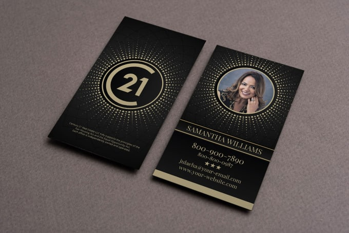 Design Your Real Estate Business Card By Yoezer32