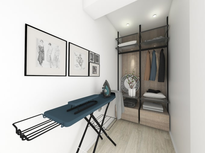 interior design and rendering images on sketchup