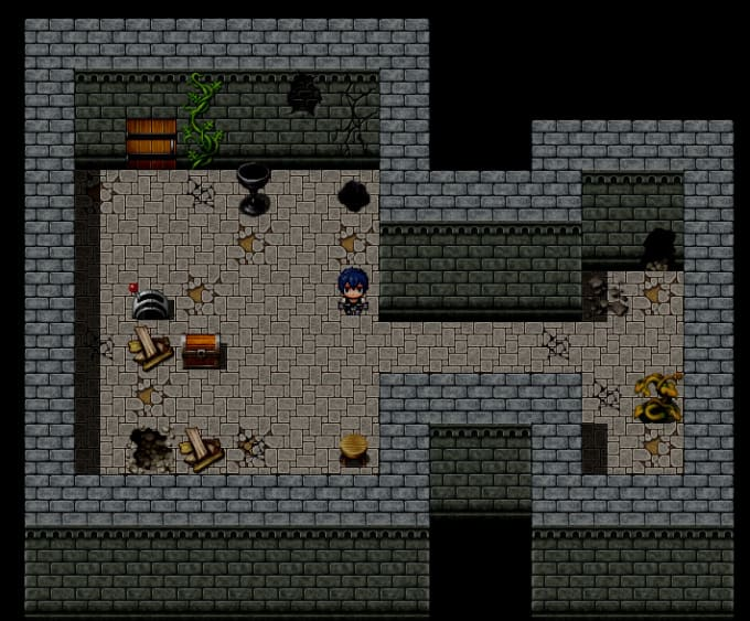 make an rpg game with rpg maker mv