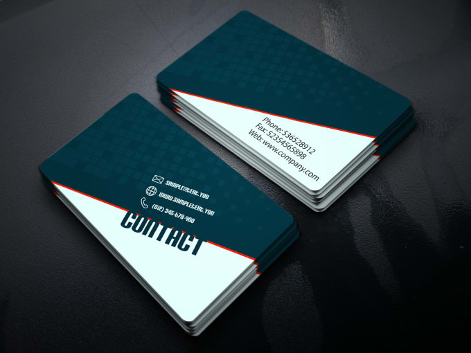 Create Your Business Card Design Concepts Within 24 Hours By