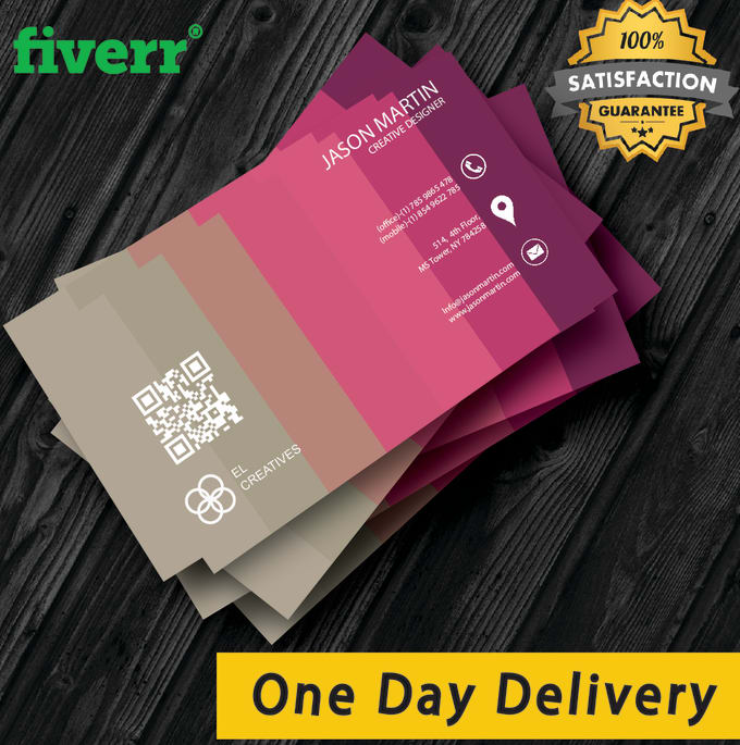 Design creative and professional business card in one day by saliaha design creative and professional business card in one day colourmoves