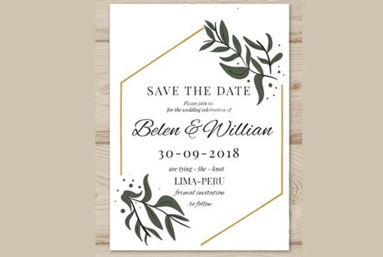 Design event party business wedding invitation design by design event party business wedding invitation design stopboris Images