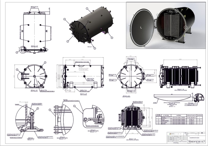 turn your brilliant ideas into a 3d cad model and drawings