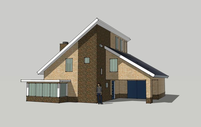 Create Your Dream House In Sketchup
