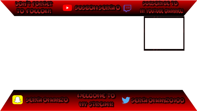 stevenmanzo : I will twitch overlays, and anything photoshop for very cheap  for $5 on www fiverr com