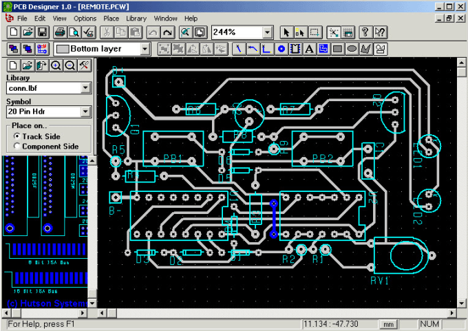 Design pcb on eagle cad with guarantee by Yasir_600