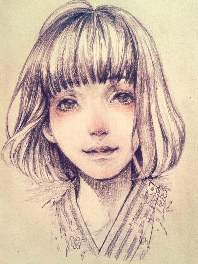 Cute Drawings Of You Or Anything You Like By Bhtooo