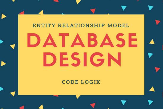 design entity relationship diagram erd as database model