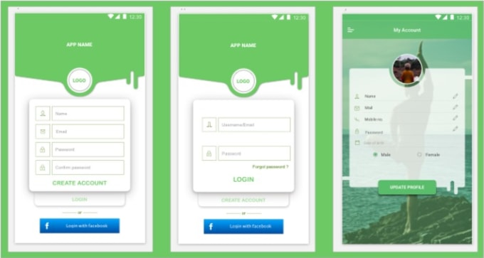 Android App Design | Do Ui Design Android App Design By Saveennehra