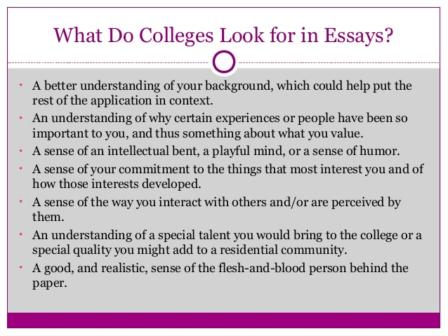 how to write a personal essay for college A personal response is an essay in which you describe and analyze your own thoughts and feelings about a reading the personal response is usually one of the first assignments in a beginning writing course.