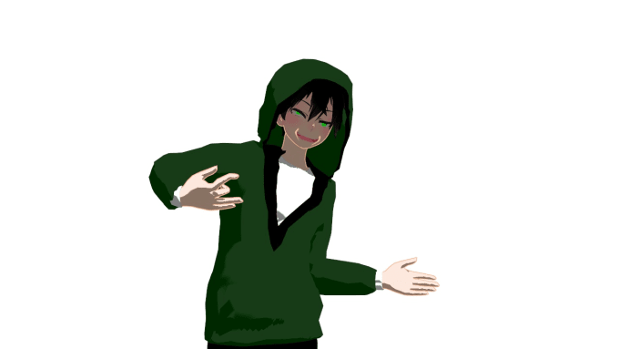 create mmd model for your oc by kaitorazer