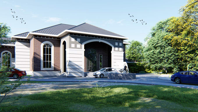 Create realistic exterior renders using revit and 3ds max - Revit exterior rendering settings ...