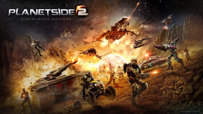 give a personalized training session on planetside 2 on the ps4
