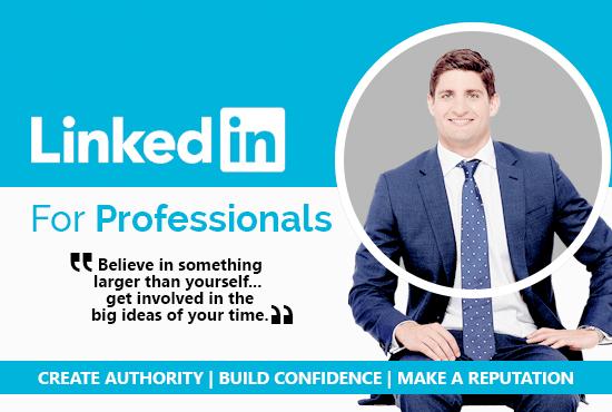 Design Linkedin Background Banner