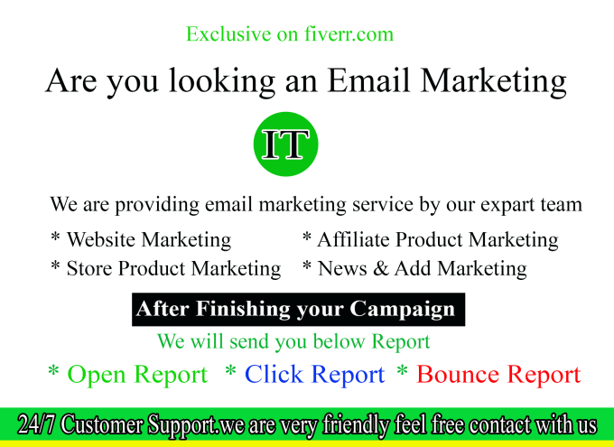 send 1 million bulk emails, email blast, email campaign