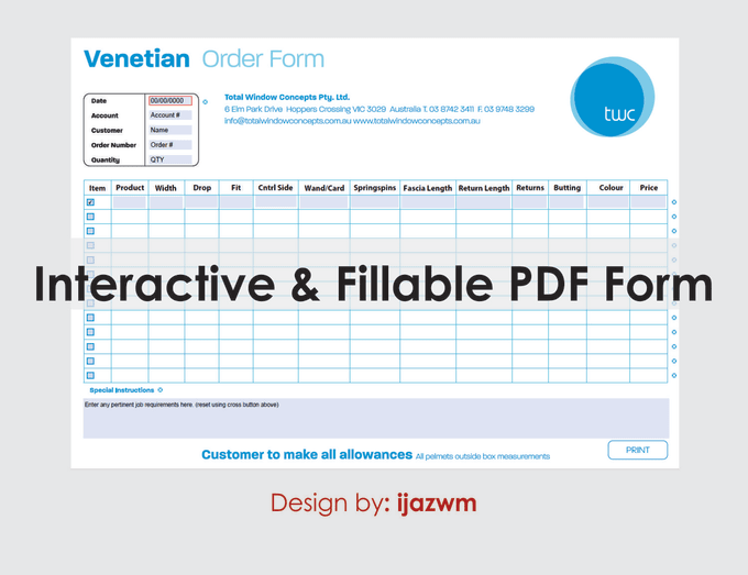 design interactive, fillable, clickable and PDF forms