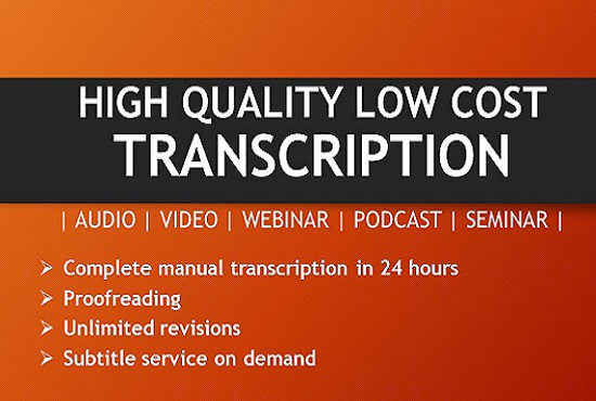Image result for transcription of audio video