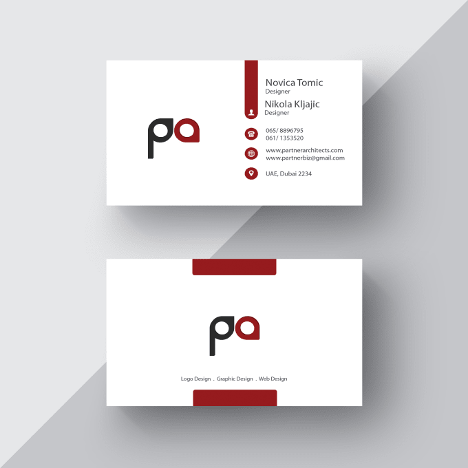 Design professional and unique business card by novicatomic design professional and unique business card reheart Images