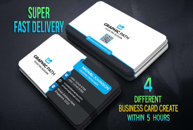 Create 4 different business card design within 5 hours by gujarnitesh8 create 4 different business card design within 5 hours reheart Images