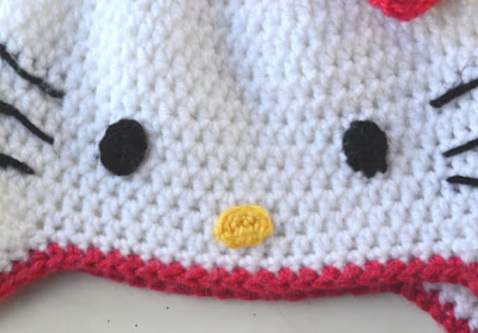 Crochet You A Hello Kitty Hat