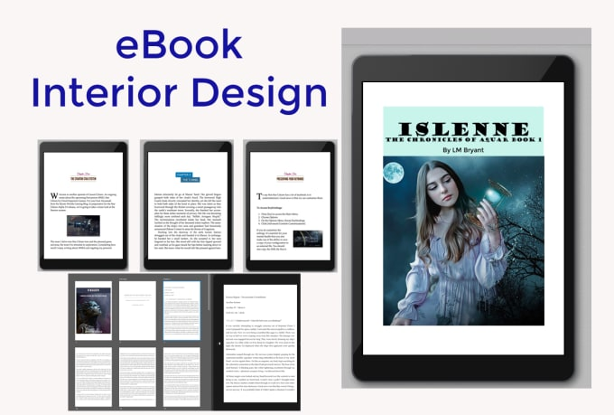 design book layout for nonfiction, self help and more