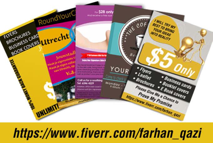 Design amazing flyer poster brochure cardcoverbanner by farhanqazi design amazing flyer poster brochure cardcoverbanner reheart Gallery