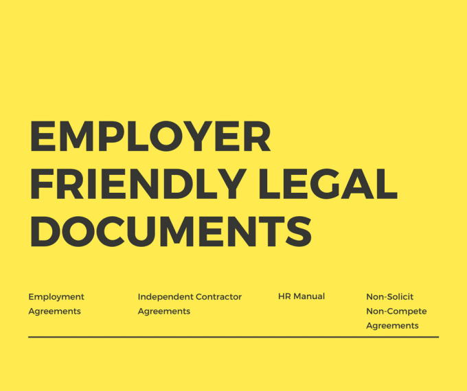 Provide Employer Friendly Legal Agreements By Snmesq