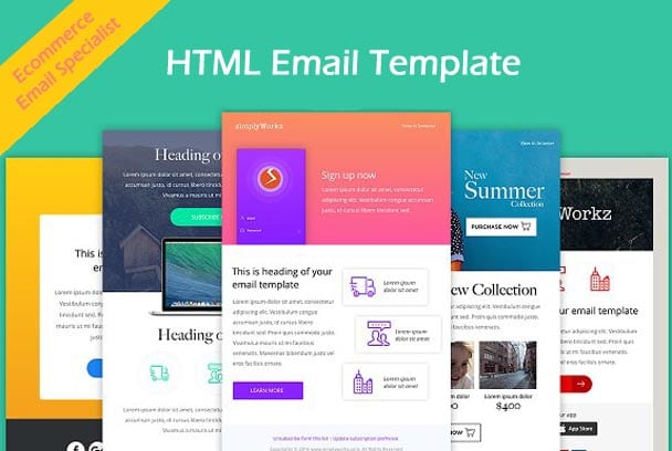 Design Html Email Template For Your Ecommerce Website By Mvmoradia - Buy html email templates