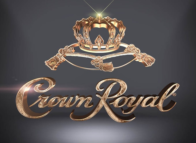make 2 premium 3d gold effect for your logo or text