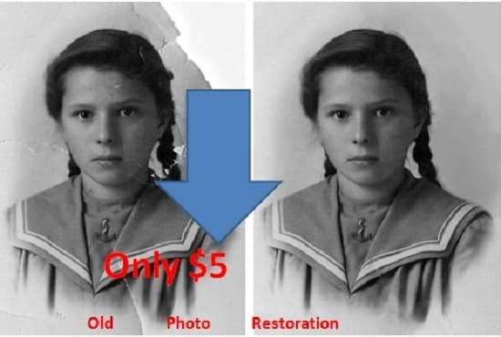 old photo restoration,photography retouch