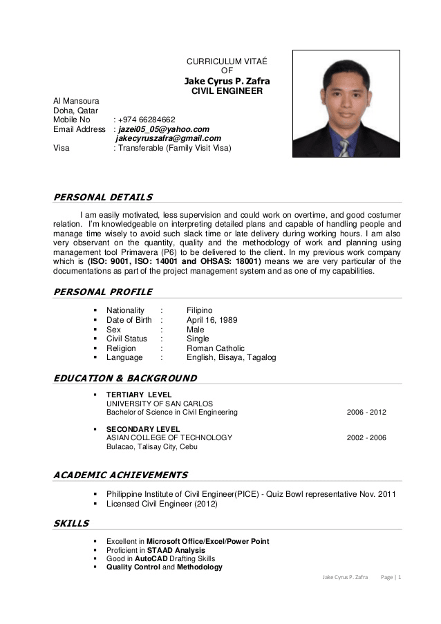 Design A Professional Cv Resume Coverletter Or Linkedin By Hassan4462