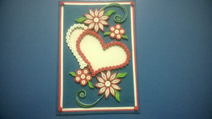 Make beautifull paer quilled greeting cards by zainicreation make beautifull paer quilled greeting cards m4hsunfo
