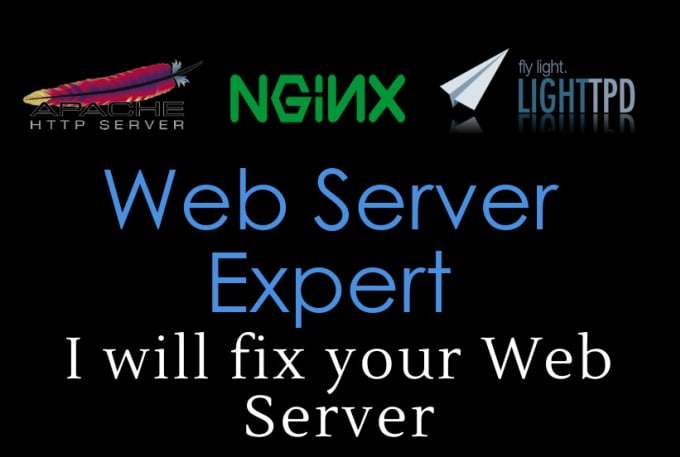 fix any issues with apache httpd or nginx or lighttpd