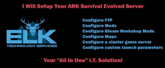 create an ark survival evolved server