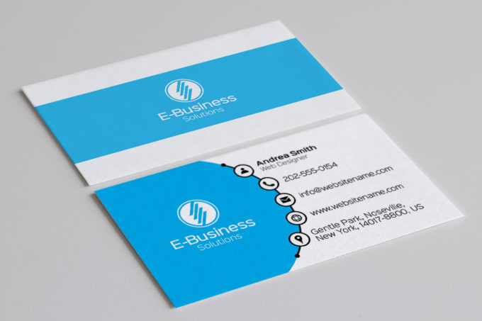 Do Professional Business Card Design By Ahmedalloush
